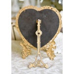 Image of Large Victorian Heart-Shaped Easel Mirror