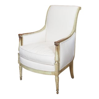 19th Century French Directoire Style Bergere