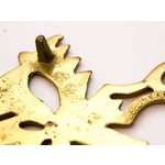 Image of Vintage Brass Mask Trivet