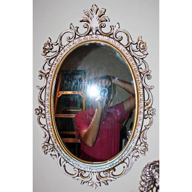 Oval Rococo Mirror - Image 2 of 5
