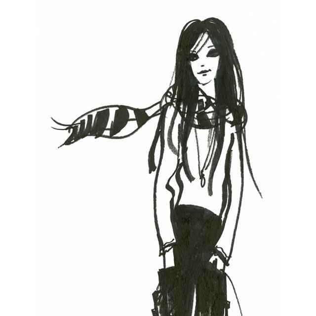 """Daniela Kamiliotis """"Karlie"""" Fashion Print - Image 2 of 3"""