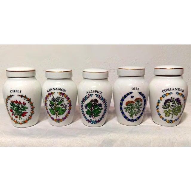 Franklin Mint Spice Jars - Set of 23 - Image 8 of 11
