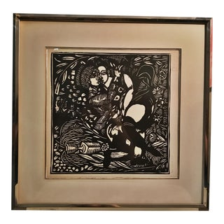 """French Raoul Dufy 'L' Amour"""" Original Print"""