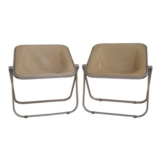 Giancarlo Piretti Italian Plona Chairs - Set of 5