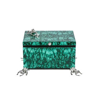 Contemporary, Italian, Malachite Box