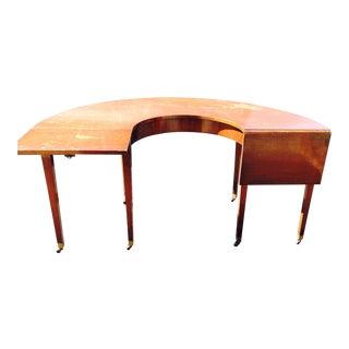 Regency Style Semi-Circular Desk