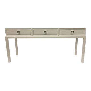 Modern History Home Malibu Loft Three Drawer Console