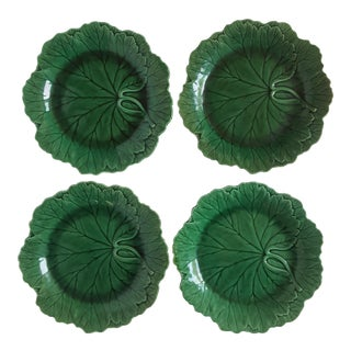 Wedgwood Cabbage Plates - Set of 4