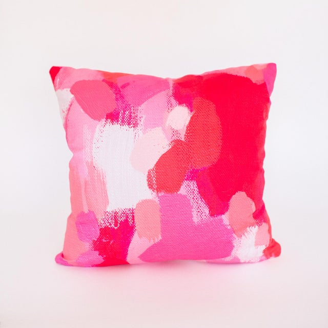 Millie Brushstroke Pillow - Image 2 of 4