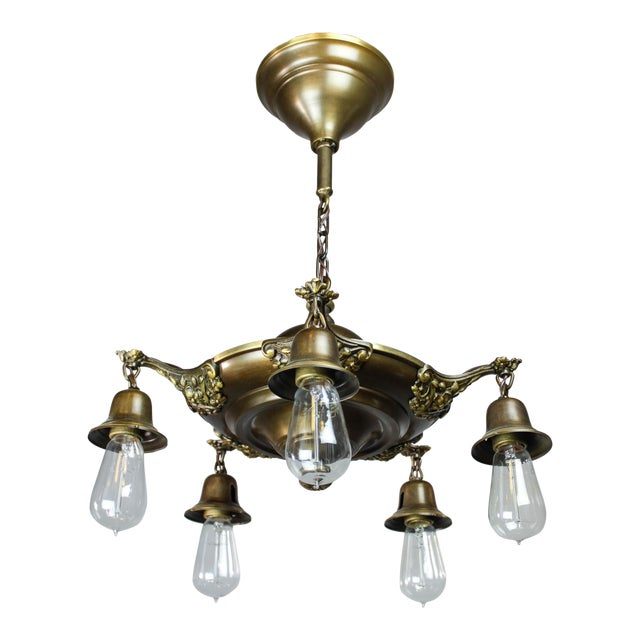 Colonial Revival Light Fixture (5-Light) - Image 1 of 10