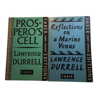 Lawrence Durrell Soft Cover Books - A Pair