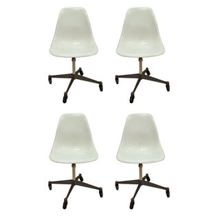 Herman Miller Adjustable Shell Chairs - Set of 4