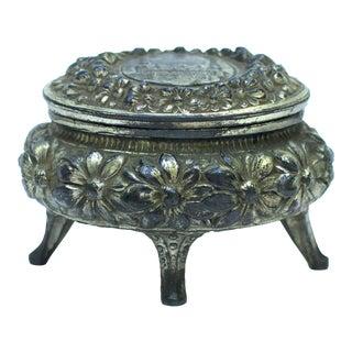 German Art Nouveau Jewelry Box