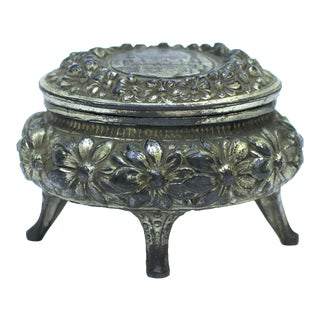 German Art Nouveau Jewelry Box