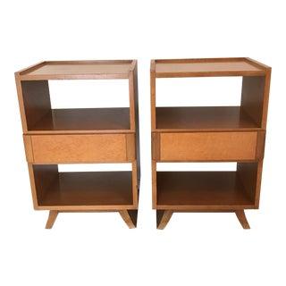 Eliel Saarinen Rway Furniture Nightstands- A Pair
