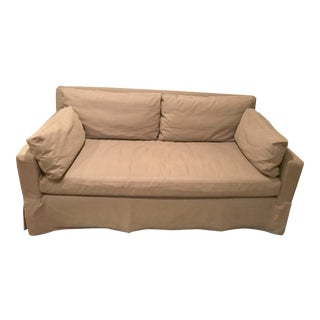 Restoration Hardware Track Arm Sofa