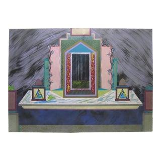 Huge Portal Painting