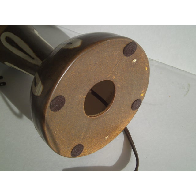 Image of Vintage MCM Albery Pottery Lamp