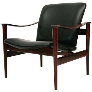 Frederik Kayser Rosewood Lounge Chair