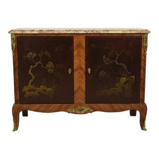 Antique Louis XVI Chinoiserie Cabinet