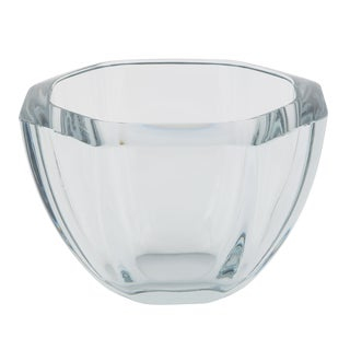 HEXAGONAL STROMBERGSHYTTAN GLASS BOWL, CIRCA 1950S