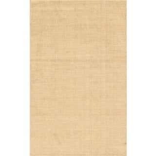"Modern Hand-Loomed Wool Area Rug - 5' 0"" X 7'11"""