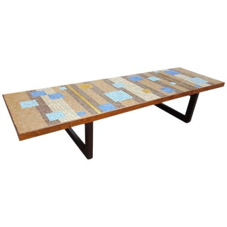 Outstanding Large Scale Mosaic Tile Coffee Table
