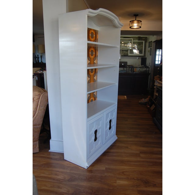 Image of Painted Mid Century Shelving Unit