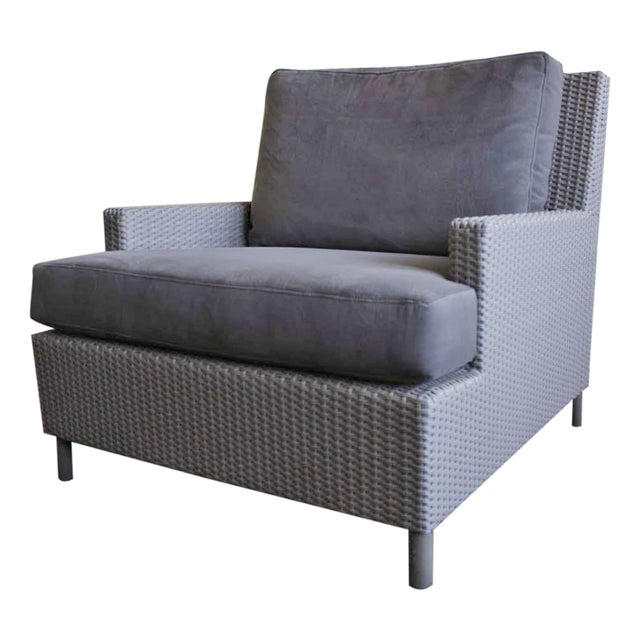 Barbara Barry Plateau Lounge Arm Chair - Image 1 of 5