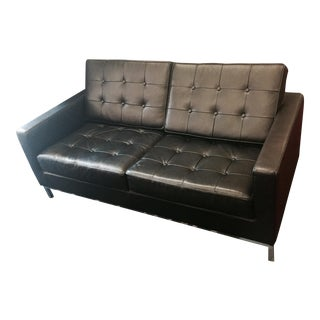 Florence Knoll Style Loveseat