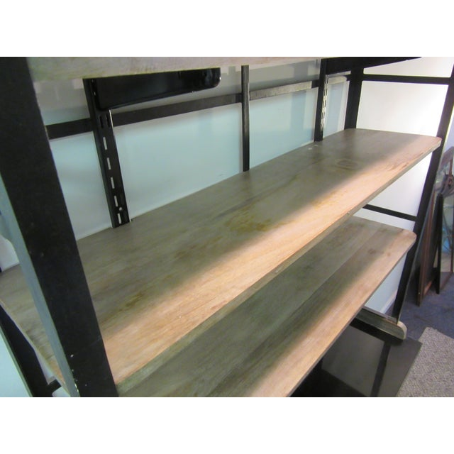 Inudstrial Back Hutch & Stone Type Top - Image 11 of 11