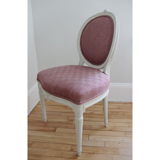 Swedish Gustavian Style Side Chairs - A Pair - Image 3 of 8