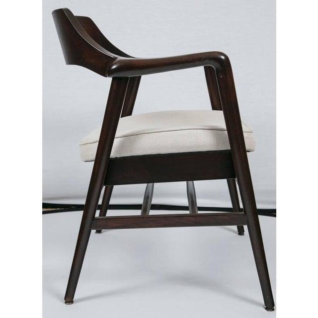 Gunlocke Wood Framed Armchair - Image 9 of 10