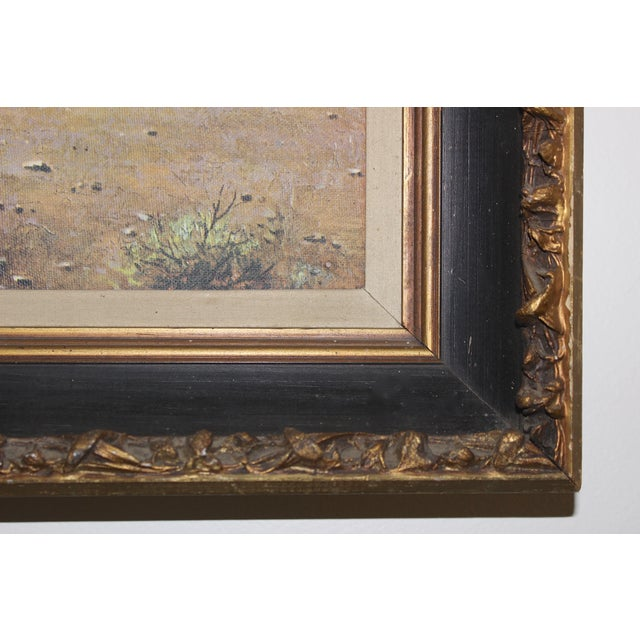 Image of Wild Horses Framed Print on Canvas