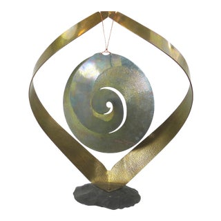 Vintage Brass Kinetic Sculpture
