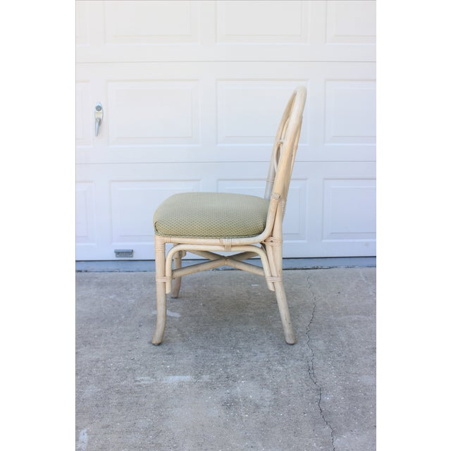 Vintage Rattan/Bamboo Accent or Desk Chair - Image 4 of 6