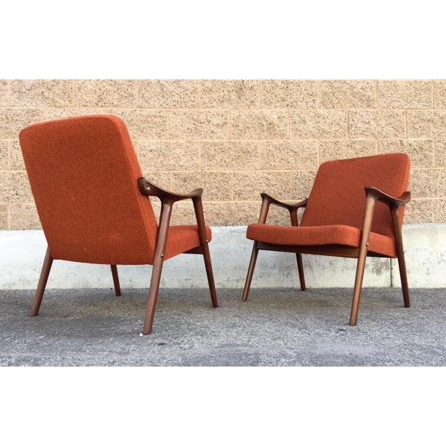 Danish Mid-Century Chairs by Igmar Relling - Pair - Image 5 of 5