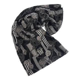 Versace Column & Rope Chiffon Fabric