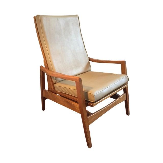 Vintage Mid-Century Modern Danish Lounge Chair - Image 1 of 9