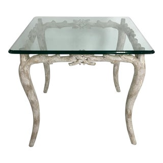 Wonderful Concrete Faux Bois Garden Table