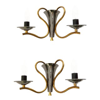 Maison Jansen Style French Urn Sconces - A Pair