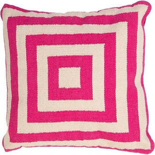 Jaipur Rugs Pink Pillow Cover