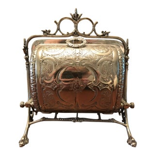 Victorian Silver Plated Biscuit Warmer