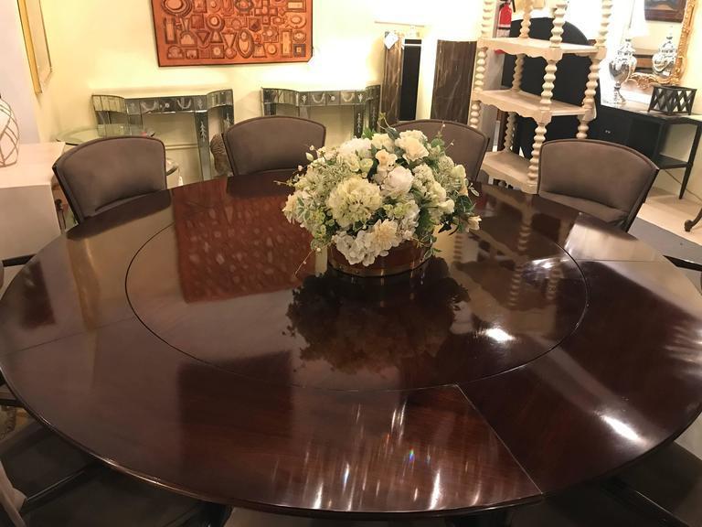 william tillman circular dining room table chairish