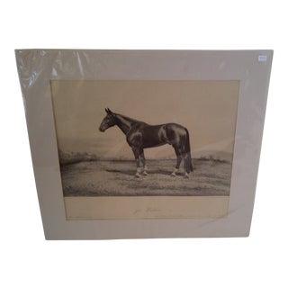 Joe Patchen Original Print Circa 1895