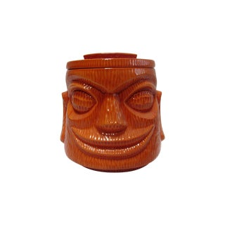Large Tiki Cookie Jar