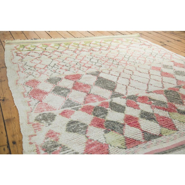 """Vintage Moroccan Square Rug - 5'8"""" x 5'9"""" - Image 2 of 5"""