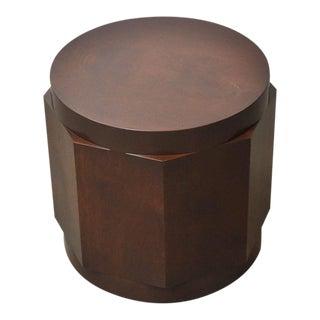 Dunbar Walnut Burl Side Table by Edward Wormley