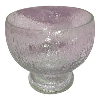 Littala Crystal Footed Bowl by Ultima Thule
