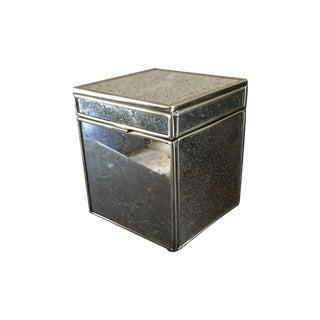 Antiqued Mirror Box